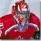 Kim St. Pierre proved time and time again to be one of the premier goaltenders in women's hockey